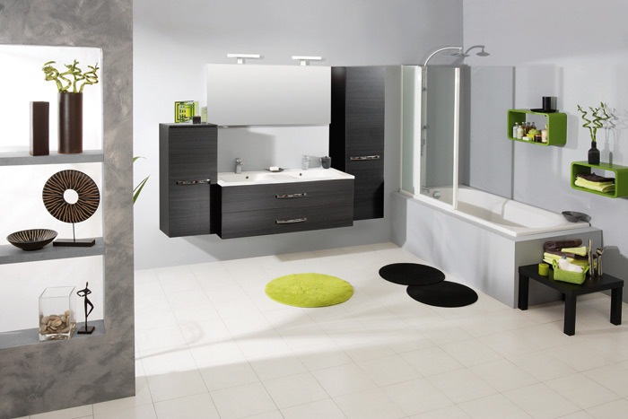 meubles contemporains genappe salle de bain contemporaine de la maison d 39 orka. Black Bedroom Furniture Sets. Home Design Ideas