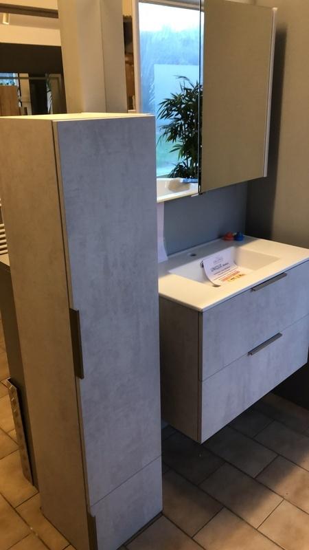 DELPHA UNIQUE 80 GRis beton clair