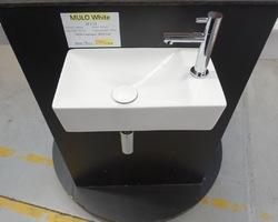 125,€  -->Lave-mains MULO White