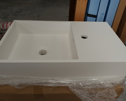 NEW !!! LAVABO / LAVE-MAINS EN SOLIDSURFACE